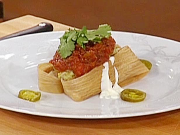 Cheese with Roasted Chile Tamales: Tamales de Queso con Rajas