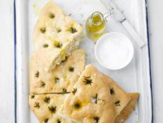 Cooking Channel serves up this Focaccia recipe from Lorraine Pascale plus many other recipes at CookingChannelTV.com