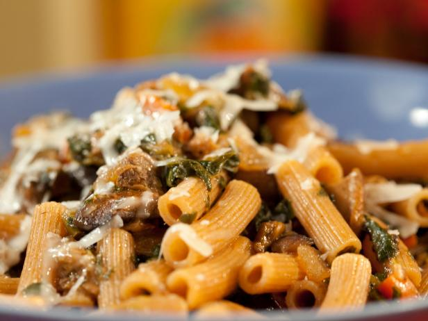 Portobello and Spinach Bolognese