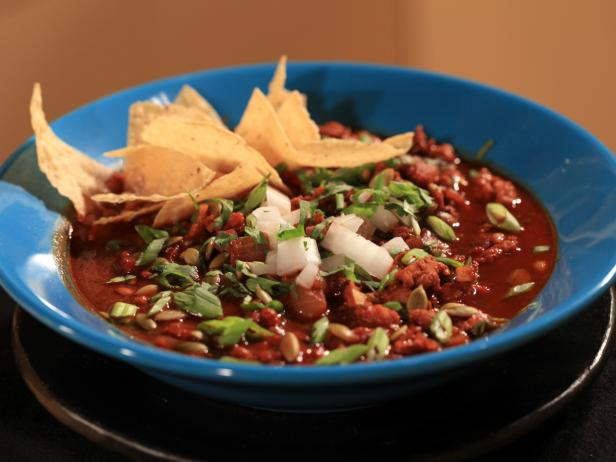 Ancho-Chipotle Turkey Chili