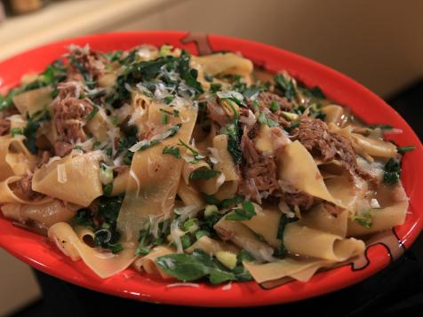 Pappardelle with Pulled Pork