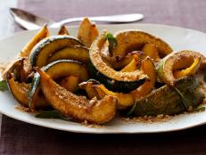 Cooking Channel serves up this Roasted Acorn Squash recipe from Tyler Florence plus many other recipes at CookingChannelTV.com