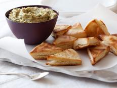 Cooking Channel serves up this White Bean Dip with Pita Chips recipe from Giada De Laurentiis plus many other recipes at CookingChannelTV.com