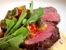 Cooking Channel serves up this Olive Branch Smoked Beef Tenderloin, Olive Oil Mashed Potatoes, Roasted Chili and Olive Ragout recipe from Lynn Crawford plus many other recipes at CookingChannelTV.com