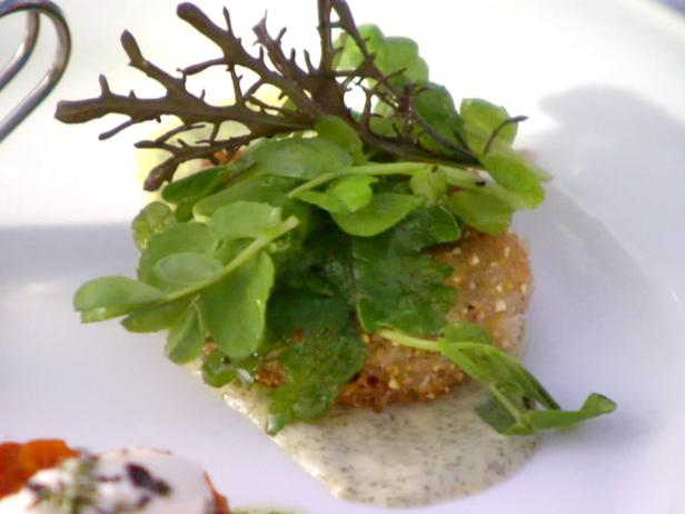 Fried Green Tomatoes with Basil Mayonnaise