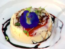 Cooking Channel serves up this Vanilla Panna Cotta with Sweet Tomato Petals and Aged Balsamic recipe from Lynn Crawford plus many other recipes at CookingChannelTV.com