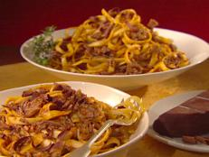 Cooking Channel serves up this Short Ribs with Tagliatelle recipe from Giada De Laurentiis plus many other recipes at CookingChannelTV.com