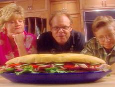 Cooking Channel serves up this Pan Bagnat recipe from Alton Brown plus many other recipes at CookingChannelTV.com