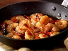 Cooking Channel serves up this Whisky and Chili Jumbo Shrimp recipe  plus many other recipes at CookingChannelTV.com