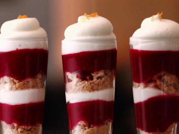 Cranberry Orange Trifle Shooters