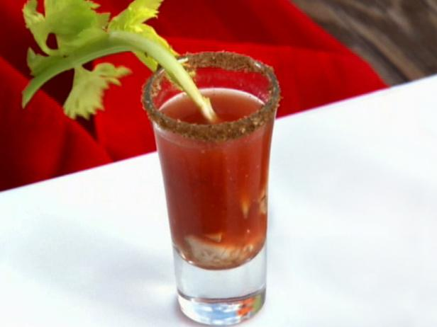 Oyster Caesar Shooters