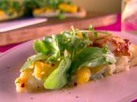 Roasted Acorn Squash and Gorgonzola Pizza