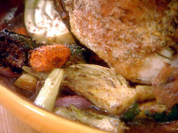 Fennel-Roasted Vegetables