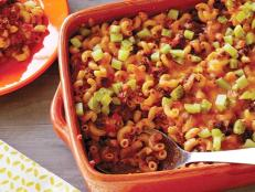 Cooking Channel serves up this Sloppy Joe and Macaroni Casserole recipe from Rachael Ray plus many other recipes at CookingChannelTV.com