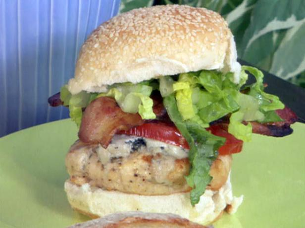 Chicken Cobb Burger