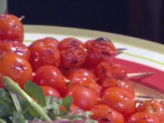 Cooking Channel serves up this Marinated Grilled Cherry Tomatoes Skewers recipe from Bobby Flay plus many other recipes at CookingChannelTV.com