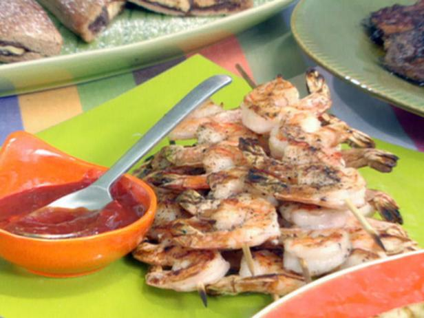 Grilled Shrimp with Asian Style