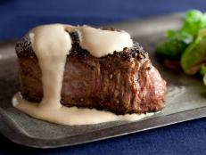 Cooking Channel serves up this Steak au Poivre recipe from Alton Brown plus many other recipes at CookingChannelTV.com