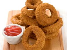 Cooking Channel serves up this Lord of the Onion Rings recipe from Lisa Lillien plus many other recipes at CookingChannelTV.com