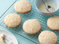 Cooking Channel serves up this Lemon Ricotta Cookies with Lemon Glaze recipe from Giada De Laurentiis plus many other recipes at CookingChannelTV.com