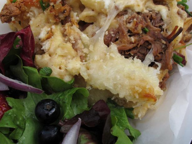 Brisket Stuffed Mac and Cheese