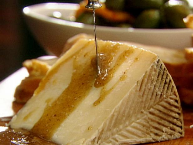 Manchego with Honey Brown Butter Sauce