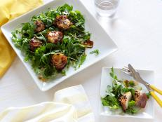 Cooking Channel serves up this Prosciutto-Wrapped Scallops recipe from Giada De Laurentiis plus many other recipes at CookingChannelTV.com