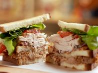 Turkey Confit Club Sandwich