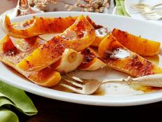 Cooking Channel serves up this Roasted Squash with Brown Butter and Cinnamon recipe from Alexandra Guarnaschelli plus many other recipes at CookingChannelTV.com