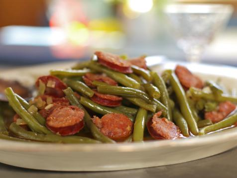Doris Spacer's Portuguese Green Beans