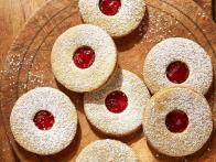 Pistachio and Sour Cherry Linzer Cookies