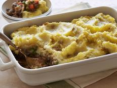 Cooking Channel serves up this Shepherd's Pie recipe from Ellie Krieger plus many other recipes at CookingChannelTV.com