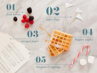 Party in Five: Belgian Waffle Bar Holiday Brunch
