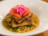 Seared Lake Superior Whitefish with Dashi Broth