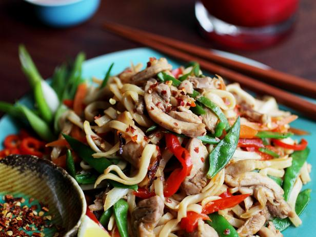 Drunken Chicken Noodles