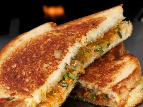 Spicy Thai Grilled Peanut Butter Sandwich