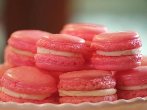 Pink Velvet Macarons with Cream Cheese Filling