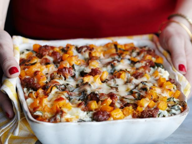 Lasagna with Sausage and Butternut Squash