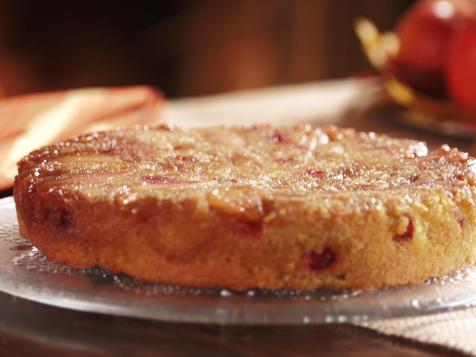 Apple Cranberry Cornmeal Cake