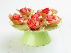 Cooking Channel serves up this Strawberry Tartlets recipe from Alexandra Guarnaschelli plus many other recipes at CookingChannelTV.com