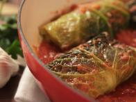 Pork and Cabbage Involtini