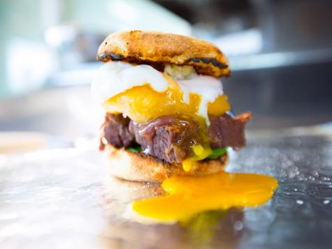 Short Rib Egg Sandwich
