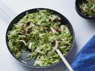 Crunchy Sweet Brussels Sprout Salad