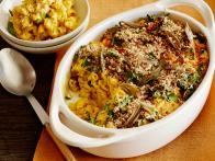 Butternut Squash Mac 'n' Cheese with Crispy Sage Leaves