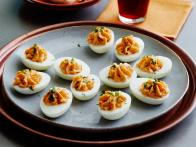 CCKEL507_thai-deviled-eggs-and-beet-pickled-Hungarian-deviled-eggs-recipe_s4x3