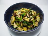 Grilled Asparagus with Zucchini and Squash