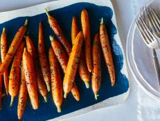 Get roasted carrot recipes for side dishes, easy appetizers and salads from chefs and hosts like Tiffani Thiessen and Giada De Laurentiis on Cooking Channel.