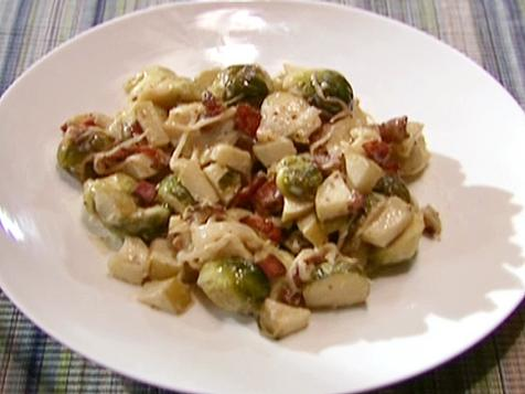 Brussels Sprouts with Bacon and Cheese