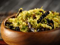 Ancho Chile Brussels Slaw