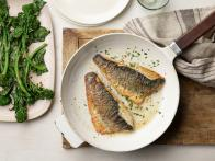 Pan-Fried Branzino